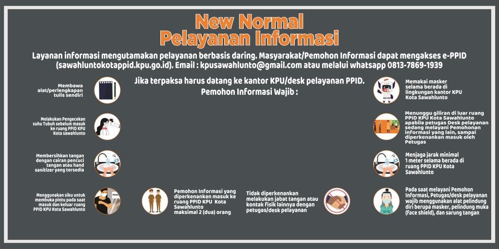 New Normal Pelayanan Informasi
